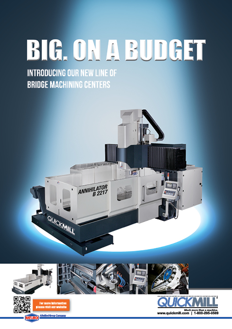 Check out our ad in Modern Machine Shop magazine